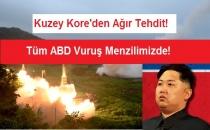 Kuzey Kore'den Pervasız Açıklama! Tüm ABD Menzilimizde