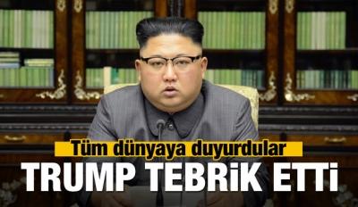 Kuzey Kore'den tüm dünyayı rahatlatan karar