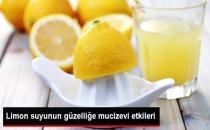 Limon Suyunun Güzelliğe Mucizevi Etkileri