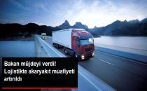 Lojistikte ÖTV'siz Akaryakıt Muafiyeti 550 Litreden 900 Litreye Çıkarıldı