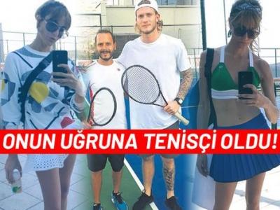 Loris Karius, Ece Sükan uğruna tenisçi oldu!