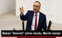 Maliye Bakanı Şiir Okudu, TBMM Karıştı