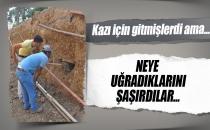 Manavgat'ta Altyapı Kazı Çalışmasında Şok Bulgu!