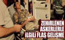 Manisa'da Askerlerin Zehirlenmesine İlişkin Flaş Açıklama!