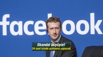 Mark Zuckerberg 24 saat içinde açıklama yapacak!