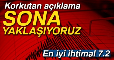 Marmara Depremiyle İlgili Flaş Açıklamalar!