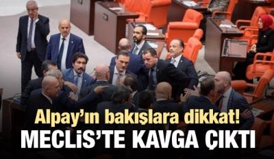Meclis'te kavga çıktı! Ortam zor sakinleşti