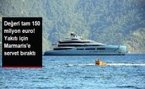 Mega Yata 260 Bin Litre Yakıt İkmal Edildi