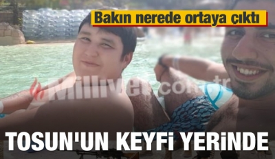 Mehmet Aydın ortaya çıktı! Tosun'un keyfi yerinde