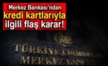 Merkez Bankası'ndan Kredi Kartlarıyla İlgili Flaş Karar!