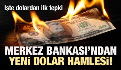 Merkez Bankası'ndan yeni dolar hamlesi!