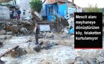Mescit Alanı Meyhaneye Dönüştürülen Köy, Felaketten Kurtulamıyor