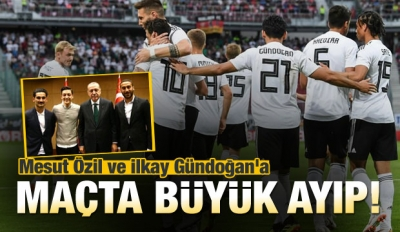 Mesut ve İlkay Gündoğan'a büyük ayıp!