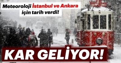 Meteoroloji Genel Müdürlüğü'nden son dakika kar yağışı ve hava durumu haberi geldi! İstanbul kar ne zaman yağacak?