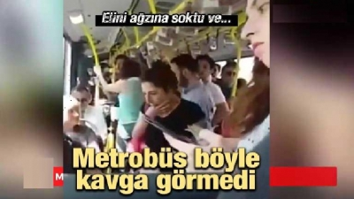 Metrobüs Böyle Kavga Görmedi!