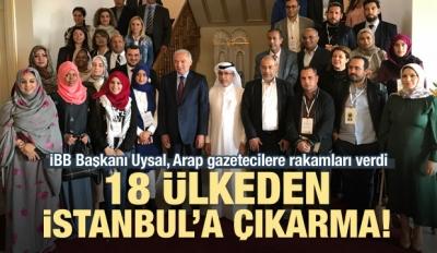 Mevlüt Uysal 18 ülkeden 60 gazeteciyle buluştu!