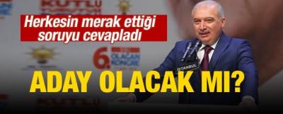 Mevlüt Uysal'dan 'adaylık' açıklaması