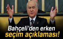 MHP Genel Başkanı Bahçeli'den Seçim Barajı Ve Erken Seçim Mesajı