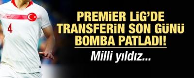 Milli yıldız Premier Lig'de!