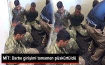 MİT: Darbe Girişimi Tamamen Püskürtüldü!