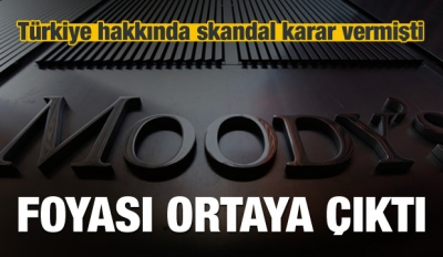 Moody's'in foyasını ortaya çıkardı