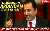 Muhsin Yazıcıoğlu'nun Ölümünün 8. Yıldönümü