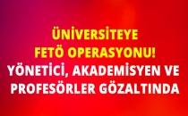 Namık Kemal Üniversitesi'ne FETÖ Operasyonu: 13 Gözaltı