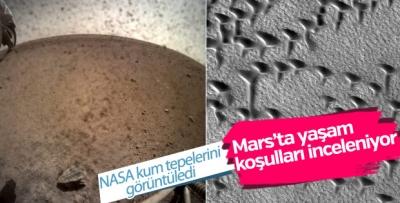 NASA Mars'taki kum tepelerini görüntüledi