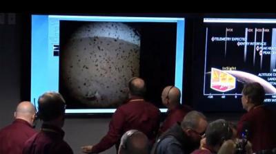 NASA'nın Mars'a Gönderdiği Keşif Aracı InSight İniş Yaptı