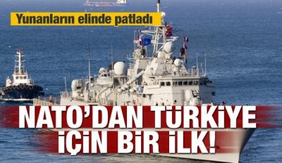 NATO'dan Türkiye için bir ilk!