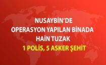 Nusaybin'de Binada Patlama: 1 Polis, 5 Asker Şehit