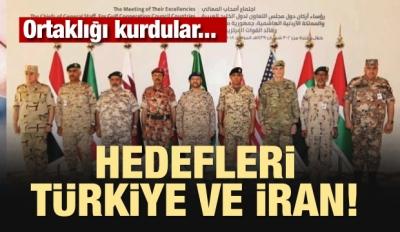 Ortaklığı kurdular! Hedefleri Türkiye ve İran
