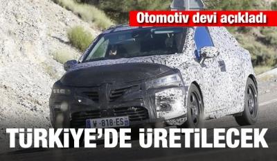 Otomotiv devi açıkladı: Türkiye'de üretilecek