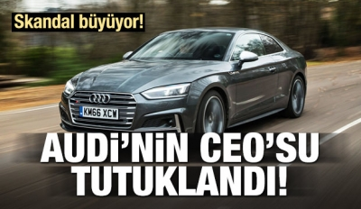 Otomotiv Devi AUDİ'nin CEO'su Tutuklandı!