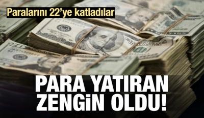 Para Yatıran Zengin Oldu!