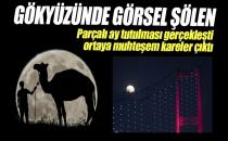 Parçalı Ay Tutulması Gerçekleşti!