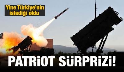 Patriot Sürprizi!