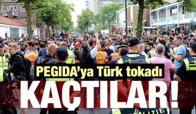 PEGIDA'ya Türk Tokadı! Kaçtılar...