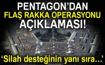 Pentagon'dan Flaş Rakka Operasyonu Açıklaması!