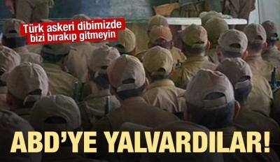 PKK, ABD'ye Suriye'den çıkmaması için yalvarıyor