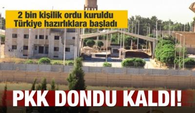 PKK, Tel Abyad'ta sokağa bile çıkamaz oldu