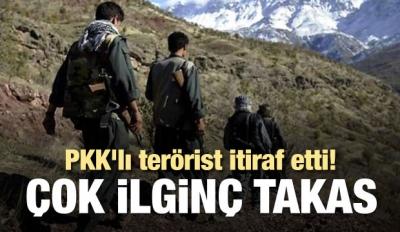 PKK'lı terörist itiraf etti! Çok ilginç takas