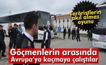 PKK'lılar Göçmenlerin Arasında Avrupa'ya Kaçmaya Çalıştılar