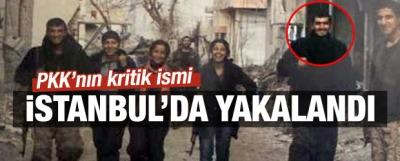 PKK'nın önemli ismi İstanbul'da yakalandı