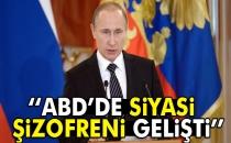 Putin: ABD'de Siyasi Şizofreni Gelişti