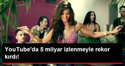 Rekor! YouTube'da 5 Milyar İzlenmeye Ulaştı