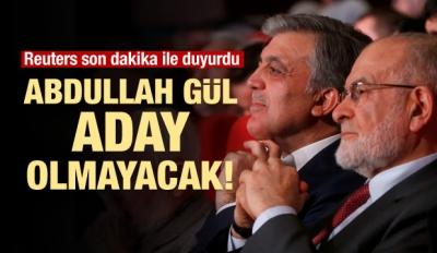 Reuters'tan Abdullah Gül iddiası!