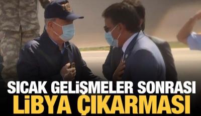 Sıcak Gelişmeler Sonrası Türkiye'den Libya Çıkarması!