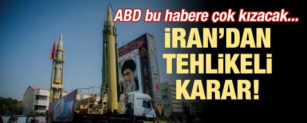 ABD bu habere çok kızacak! İran'dan tehlikeli karar