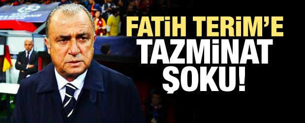 Fatih Terim'e tazminat şoku!
